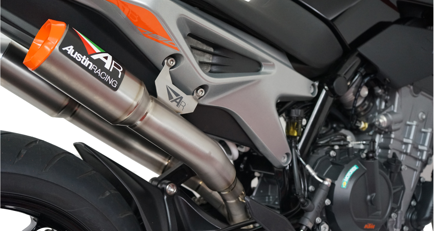 Ktm Duke 790 2018 Slip On Decat Rs22 Duel Systems